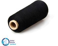 黑色再生棉襪紗