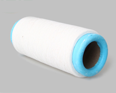 白色再生滌棉手套紗