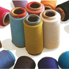 各種有色再生棉襪子紗線(可訂色)